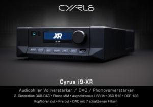 Cyrus i9-XR Vollverstärker