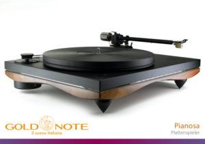 Gold-Note-Pianosa Plattenspieler